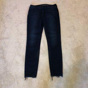 Articles of Society Sarah Cut Off Hem Jeans